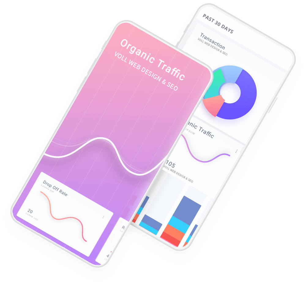 Website Pflege Mobile Statistik - Voll Webdesign & SEO
